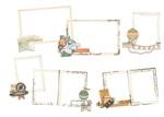 Simple Vintage Traveler Layered Frames - Simple Stories