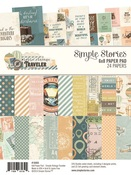 Simple Vintage Traveler 6 x 8 Paper Pad - Simple Stories - PRE ORDER