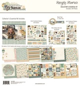 Simple Vintage Traveler Collectors Essential Kit - Simple Stories - PRE ORDER