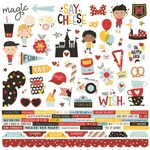 Say Cheese 4 Combo Sticker Sheet - Simple Stories
