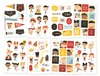 Say Cheese 4 4x6 Happy Kids Stickers - Simple Stories