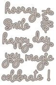 Happy Words 4x6 Dies Say Cheese 4 - Simple Stories
