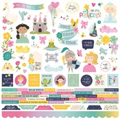 Little Princess Combo Sticker - Simple Stories