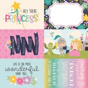 4x6 Elements Paper - Little Princess - Simple Stories - PRE ORDER