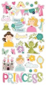Little Princess Chipboard Stickers - Simple Stories