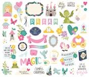 Little Princess Bits & Pieces - Simple Stories