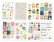 Little Princess Sticker Sheets - Simple Stories