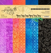 Kaleidoscope 12x12 Patterns & Solid Pad - Graphic 45 - PRE ORDER