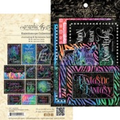 Kaleidoscope Ephemera Cards - Graphic 45 - PRE ORDER