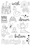 Make a Wish Stamps Little Princess - Simple Stories