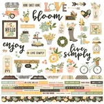 Spring Farmhouse Combo Sticker - Simple Stories