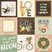 4x4 Elements Paper - Spring Farmhouse - Simple Stories