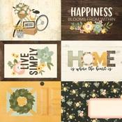 4x6 Elements Paper - Spring Farmhouse - Simple Stories