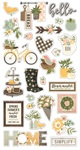 Spring Farmhouse Chipboard Stickers - Simple Stories