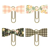 Spring Farmhouse Bow Clips - Simple Stories