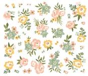 Spring Farmhouse Floral Bits & Pieces - Simple Stories