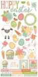 Bunnies & Baskets Sticker Sheet - Simple Stories