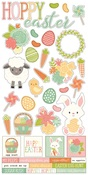 Bunnies & Baskets Sticker Sheet - Simple Stories