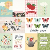 3x4 & 4x6 Elements Paper - Springtime - Simple Stories
