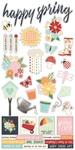 Springtime Sticker Sheet - Simple Stories