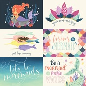 6X4 Journaling Card Paper - Mermaid Dreams - Echo Park