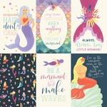 4X6 Journaling Card Paper - Mermaid Dreams - Echo Park
