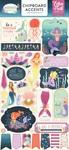 Mermaid Dreams Chipboard Accents - Echo Park - PRE ORDER