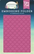 Embossing Folder Mermaid Scales - Echo Park