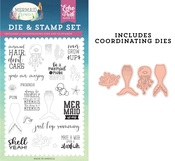 Be A Mermaid Die & Stamp Set - Echo Park