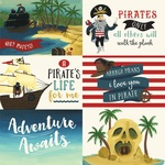 6X4 Journaling Cards Paper - Pirate Tales - Echo Park