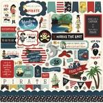 Pirate Tales Element Sticker Sheet - Echo Park