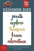 Pirate Treasure Word Die Set - Echo Park