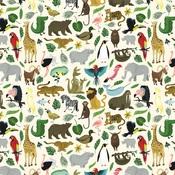 It's A Zoo Paper - Animal Safari - Echo Park