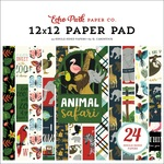 Animal Safari 12X12 Paper Pad - Echo Park