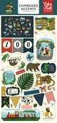 Animal Safari Chipboard Accents - Echo Park