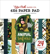 Animal Safari 6x6 Paper Pad - Echo Park