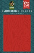 Embossing Folder Zebra - Echo Park