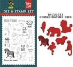 Wild Thing Die & Stamp Set - Echo Park