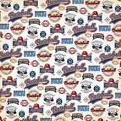 Number One Fan Paper - Baseball - Carta Bella