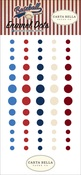 Baseball Enamel Dots - Carta Bella