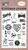 Baseball All Star Stamp Set - Carta Bella