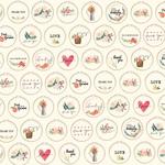 Embroidery Hoops Paper - Flower Market - Carta Bella