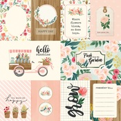 Multi Journaling Cards Paper - Flower Market - Carta Bella