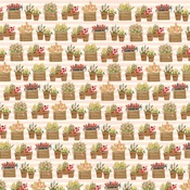 Planted Flowers Paper - Flower Market - Carta Bella