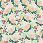 Garden Floral Paper - Flower Market - Carta Bella