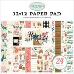 Flower Market 12X12 Paper Pad - Carta Bella