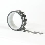Decorative Tape Black & White Buffalo - Carta Bella