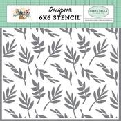 Delightful Branches Stencil - Carta Bella - PRE ORDER
