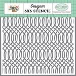 Garden Geometric Stencil - Carta Bella
