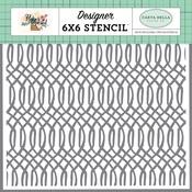 Garden Geometric Stencil - Carta Bella - PRE ORDER